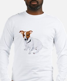 Jack Russell Painting Long Sleeve T-Shirt