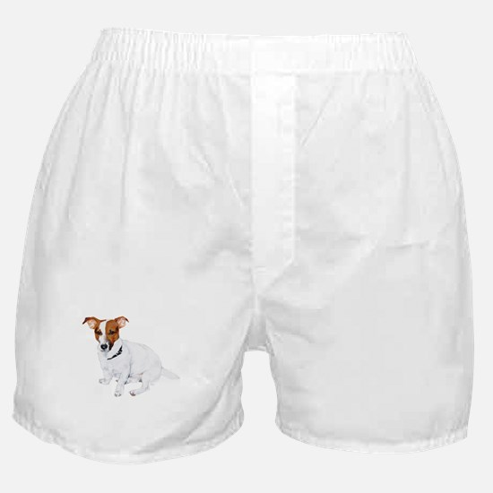 Jack Russell Painting Boxer Shorts