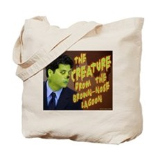 Creature from the Brown Nose Lagoon Tote Bag