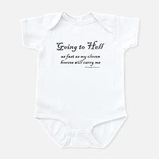 Going Down Infant Bodysuit