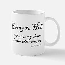 Going Down Mug