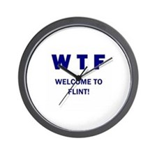 Welcome to Flint Wall Clock
