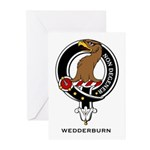Wedderburn Clan Crest Greeting Cards (Pk of 10