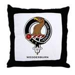 Wedderburn Clan Crest Throw Pillow