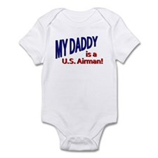 My Daddy is a US Airman Infant Bodysuit