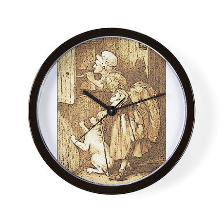 Old Mother Hubbard, #2 Wall Clock