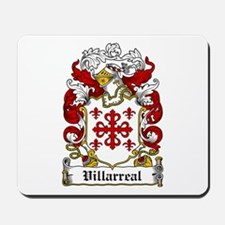 Villarreal Coat of Arms Mousepad