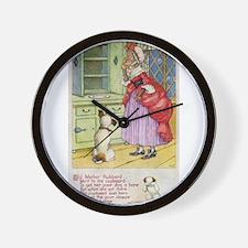 Old Mother Hubbard, #1 Wall Clock