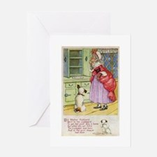 Old Mother Hubbard, #1 Greeting Card