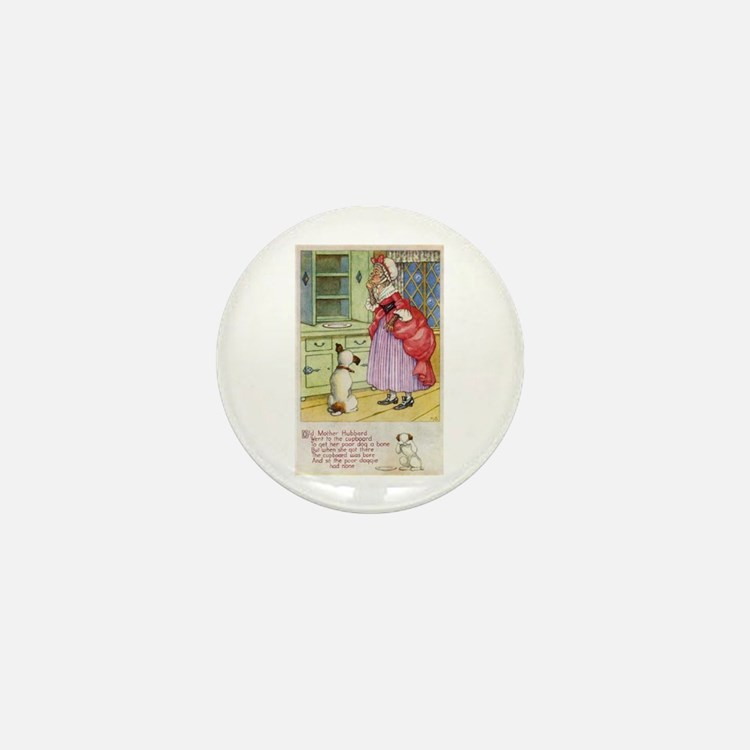 Old Mother Hubbard, #1 Mini Button