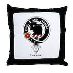 Tweedie Clan crest Throw Pillow