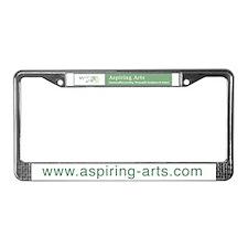 Aspiring Arts License Plate Frame