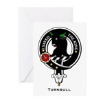 Turnbull Clan Crest Greeting Cards (Pk of 10)