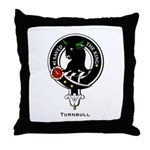 Turnbull Clan Crest Throw Pillow