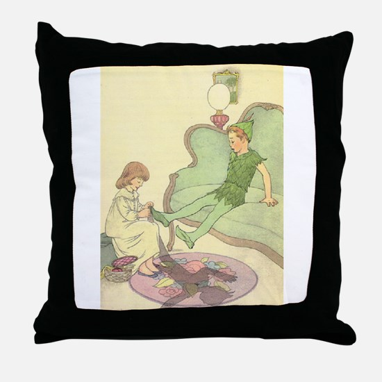 Old Mother Hubbard, #1 Throw Pillow
