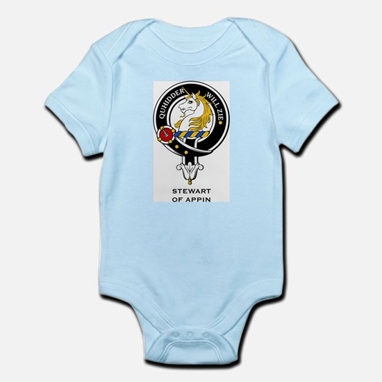 Stewart of Appin Clan Crest Infant Creeper
