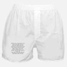 Defination Of A Nanny Boxer Shorts