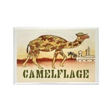 """CAMELFLAGE"" Rectangle Magnet"