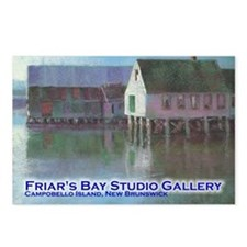 Funny Friar Postcards (Package of 8)