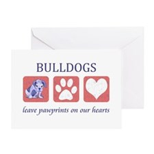 Bulldog Lover Gifts Greeting Card