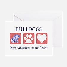 Bulldog Lover Gifts Greeting Card