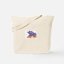 Cute Acadian flag Tote Bag