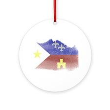 Cute Acadiana Ornament (Round)