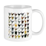 49 Hen Breeds Mug