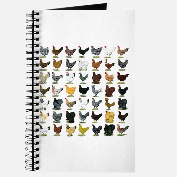 49 Hen Breeds Journal
