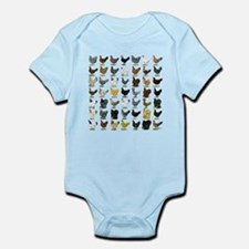 49 Hen Breeds Infant Bodysuit