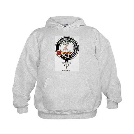 Skene Clan Crest / Badge Kids Hoodie