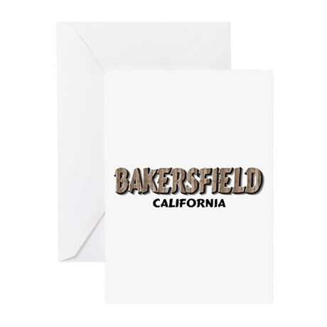 Bakersfield California Greeting Cards (Package of
