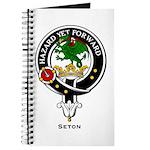 Seton Clan Crest / Badge Journal