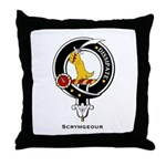Scrymgeour Clan Crest Throw Pillow