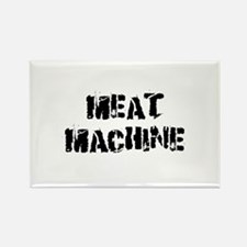 Meat Machine Rectangle Magnet
