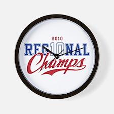 2010 Regional Champs Wall Clock