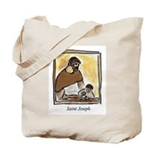 Saint Joseph Carpenter Tote Bag