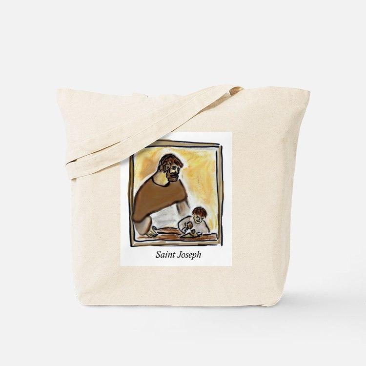 Saint Joseph Carpenter Tote Bag
