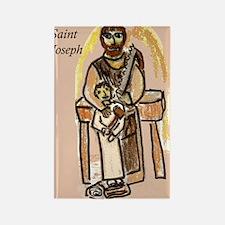 Saint Joseph Rectangle Magnet (10 pack)