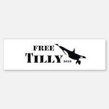 FREE Tilikum the ORCA!! Bumper Bumper Sticker