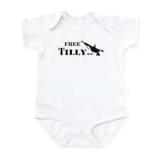 FREE Tilikum the ORCA!! Infant Bodysuit