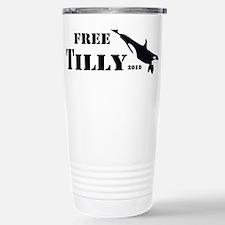 FREE Tilikum the ORCA!! Stainless Steel Travel Mug