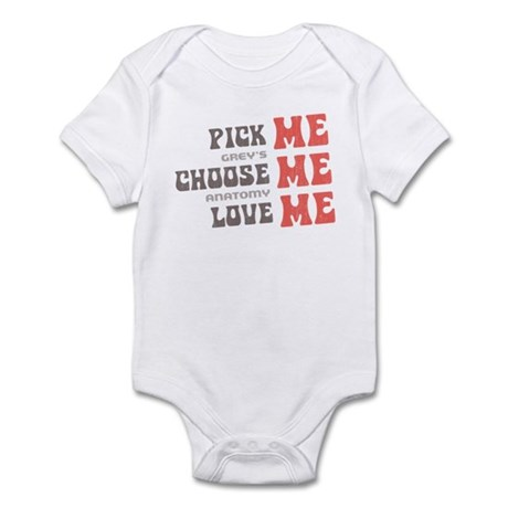Pick Me Choose Me Love Me Infant Bodysuit