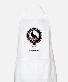 Rutherford Clan Crest / Badge BBQ Apron