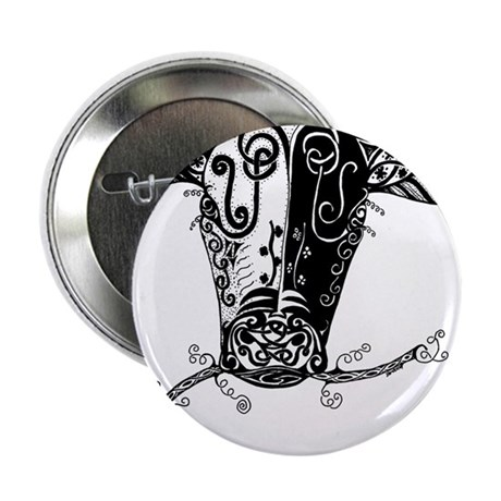 """Jersey Cow 2.25"""" Button (10 pack)"""