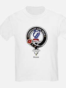 Rose Clan Crest / Badge Kids T-Shirt