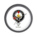 Rattray Clan Crest / Badge Wall Clock