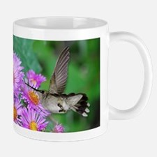 Hummingbird and asters Mug