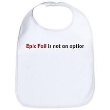 Epic Fail Humor Bib