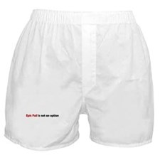 Epic Fail Humor Boxer Shorts